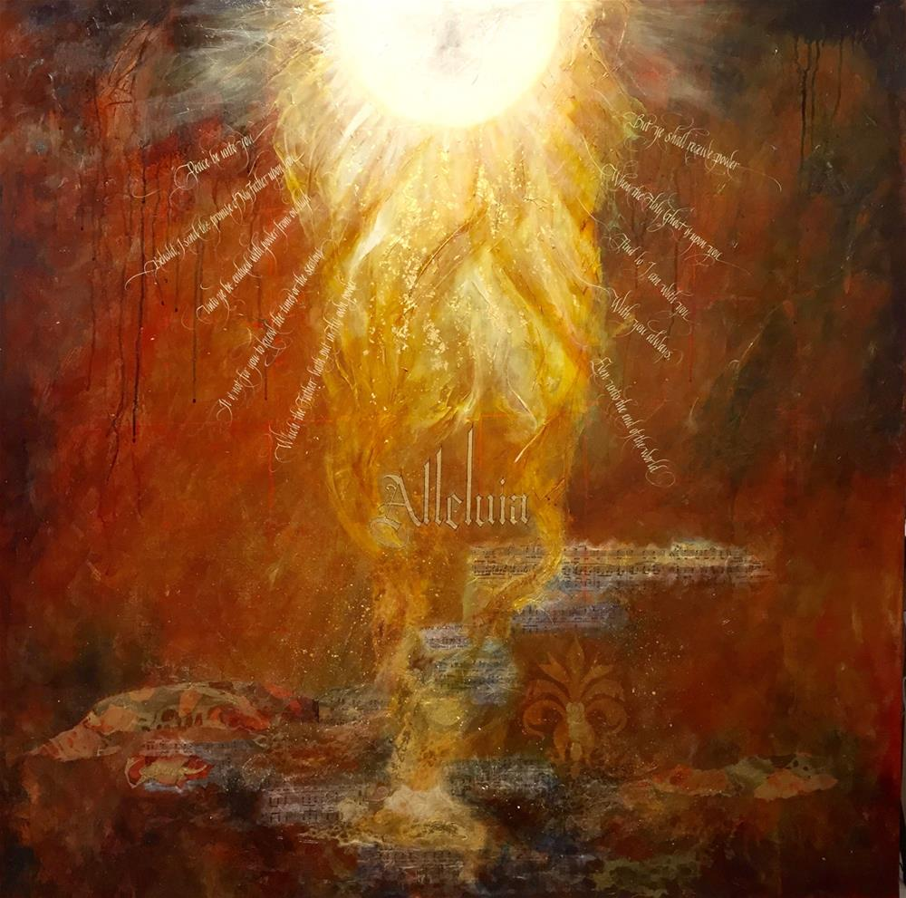 """""""The Ascension"""" original fine art by Patti Adams"""