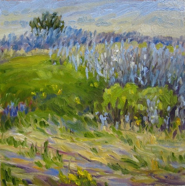 """""""Unmade Beds And Buttercups"""" original fine art by Nicki Ault"""