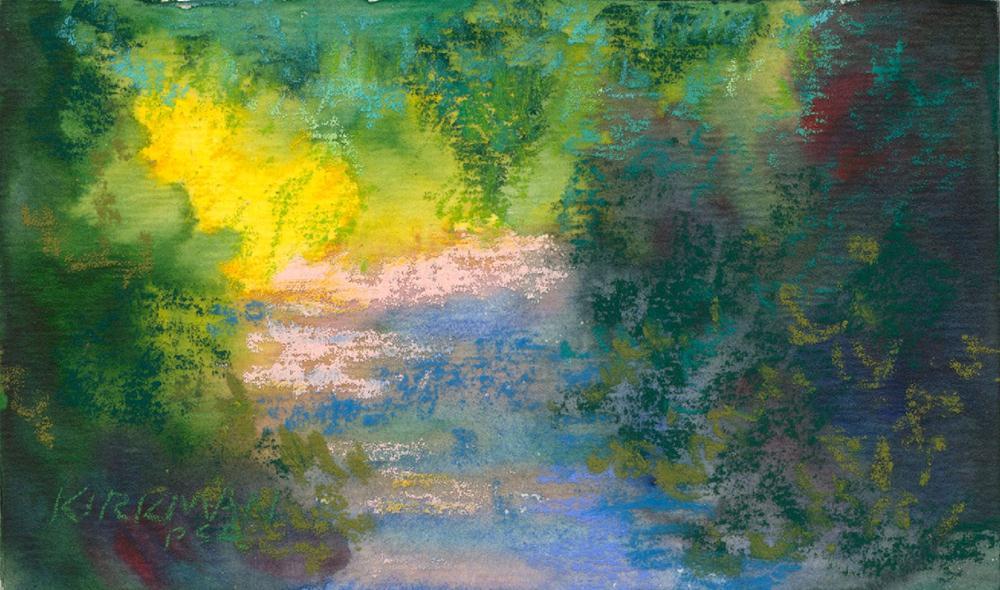 """""""Park Trail #17"""" original fine art by Rita Kirkman"""