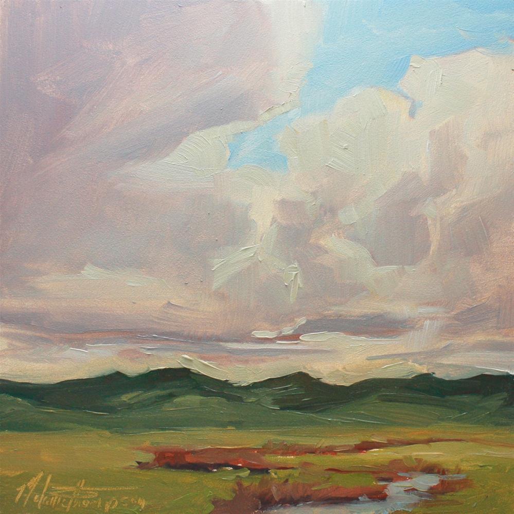 """Along the Burnt River"" original fine art by Melanie Thompson"