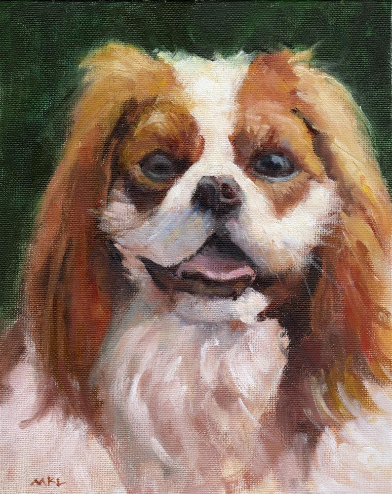 """Cookie"" original fine art by Marlene Lee"