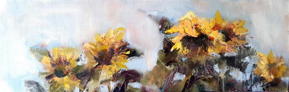 """""""Bethlehem beauties"""" original fine art by Rentia Coetzee"""