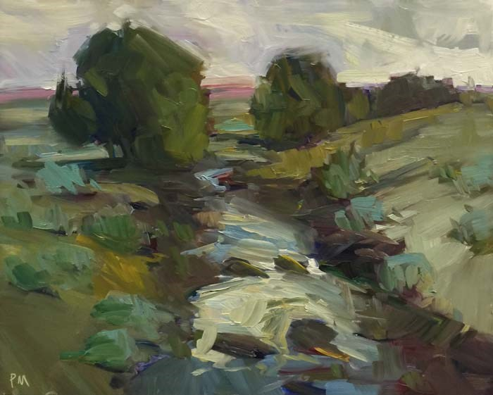 """On the way to Susanville"" original fine art by Patti McNutt"