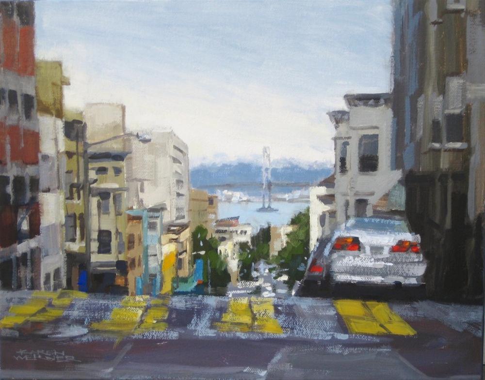 """""""High Bay View"""" original fine art by Karen Werner"""