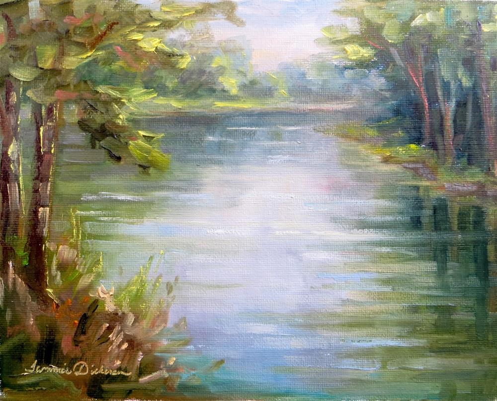 """""""Along the Portage"""" original fine art by Tammie Dickerson"""