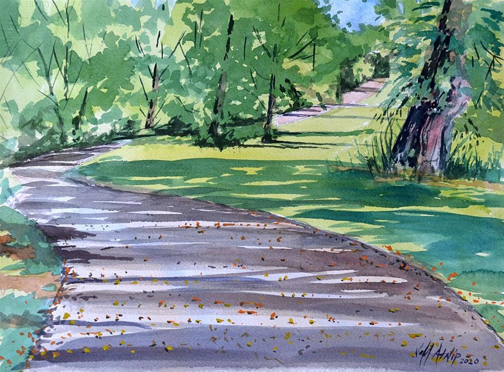 """Rock Creek Greenway"" original fine art by Jeff Atnip"