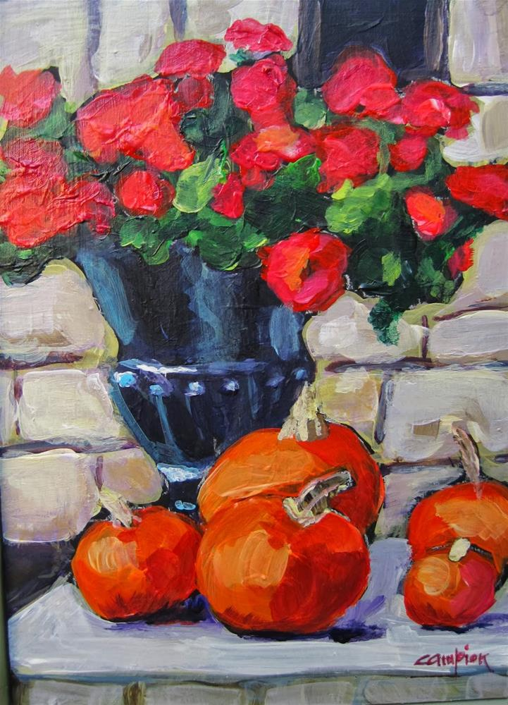 """185 In Between"" original fine art by Diane Campion"