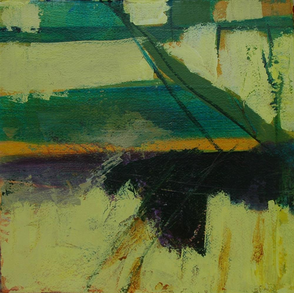 """Along the Road"" original fine art by Carol Wiley"