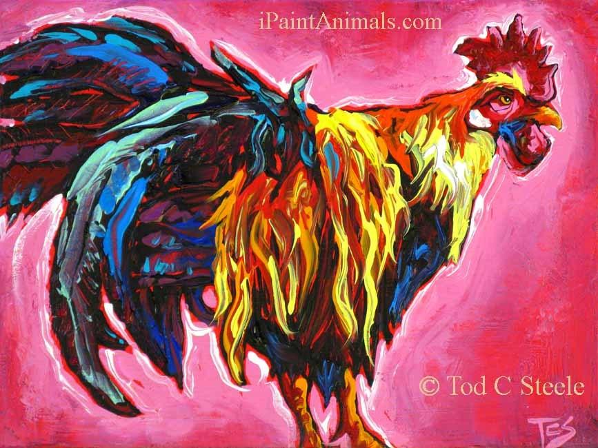 """Ceasar Eggustus 1 - by Tod C Steele"" original fine art by Tod Steele"