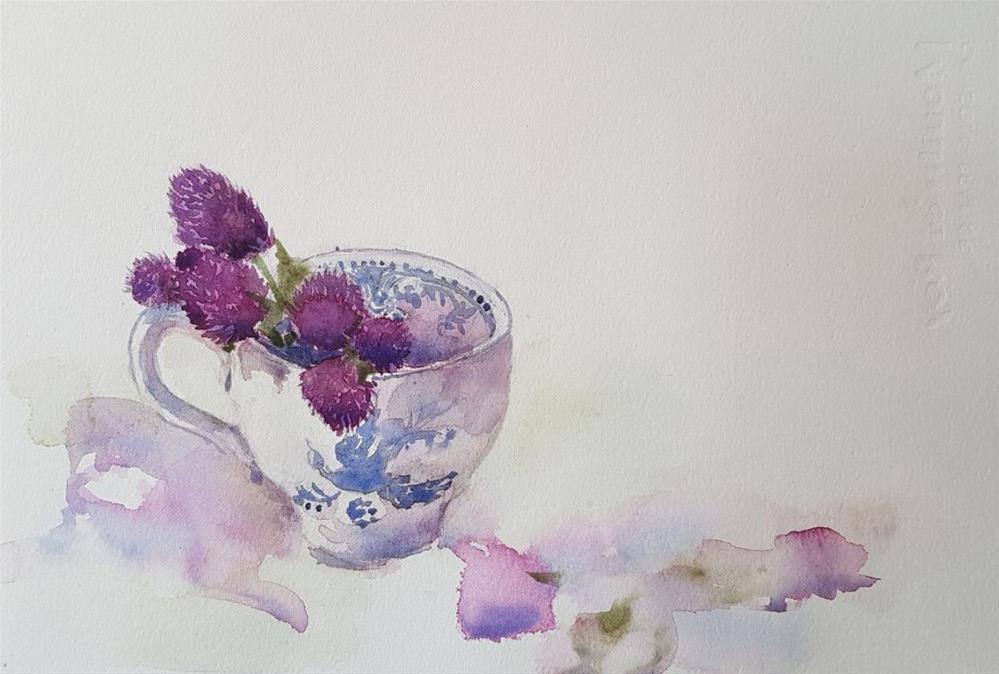 """Pickings"" original fine art by Karina Lim"