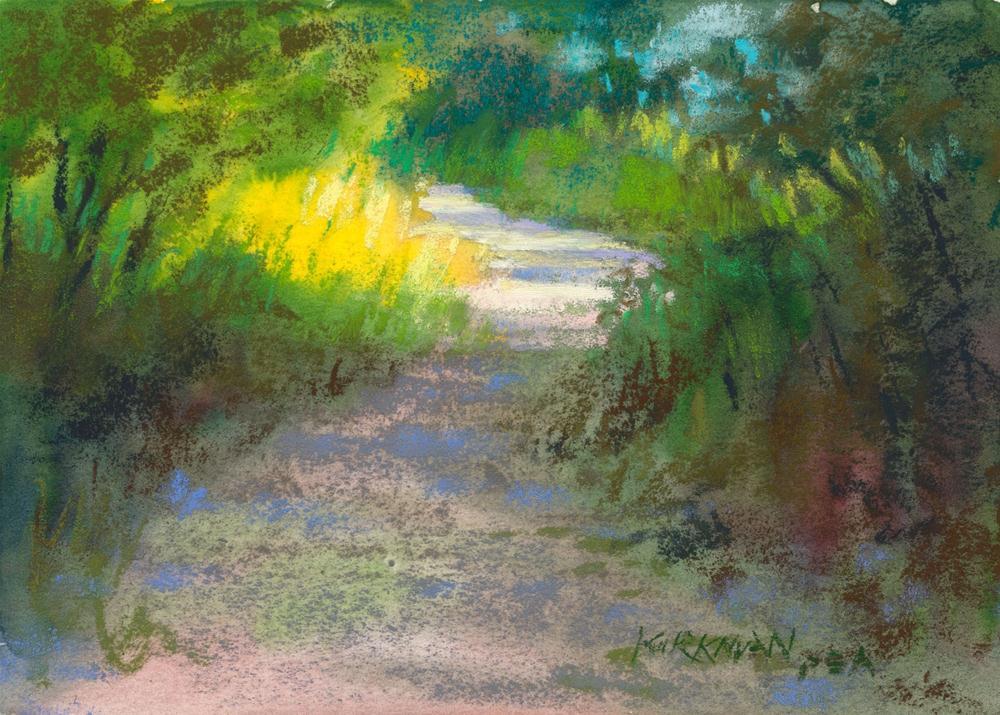 """""""Park Trail #16"""" original fine art by Rita Kirkman"""