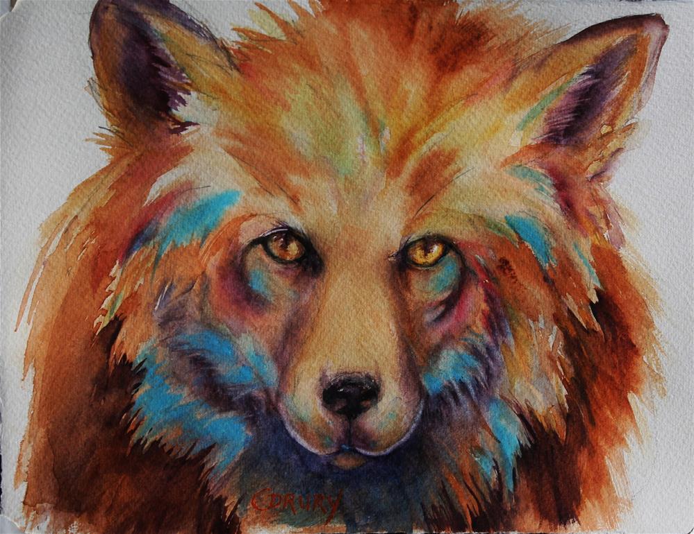 """""""Suspicous"""" original fine art by Colleen Drury"""