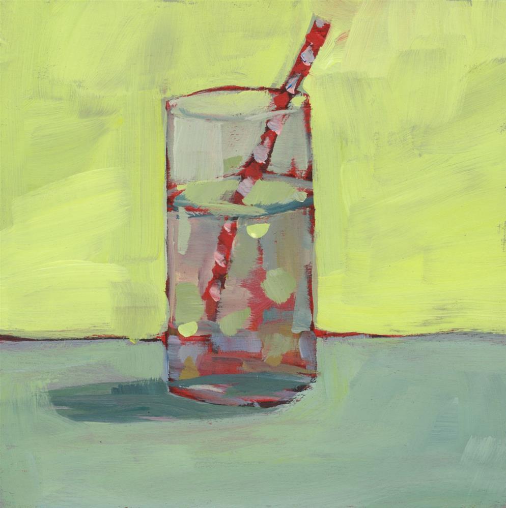 """""""1026: Tall Cool Mixer"""" original fine art by Brian Miller"""