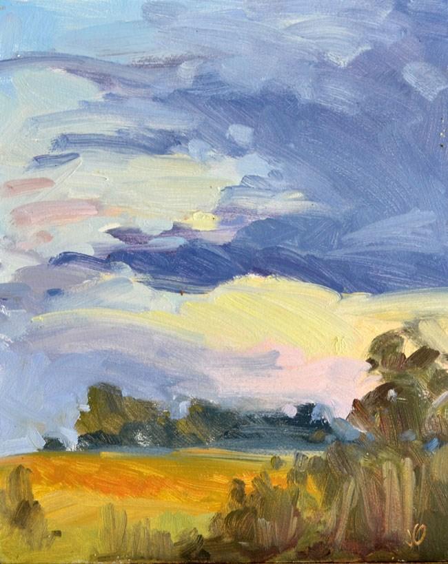 """""""Sunrise"""" original fine art by Jessica Green"""