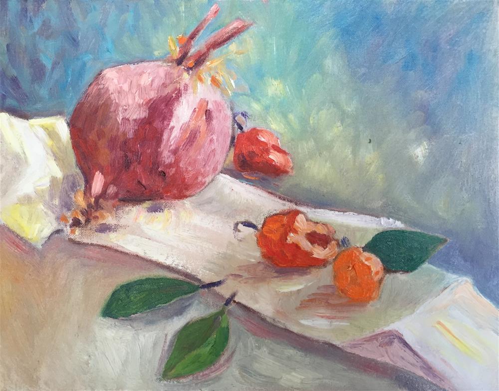 """Essential Ingredients"" original fine art by Virginia Fergus"