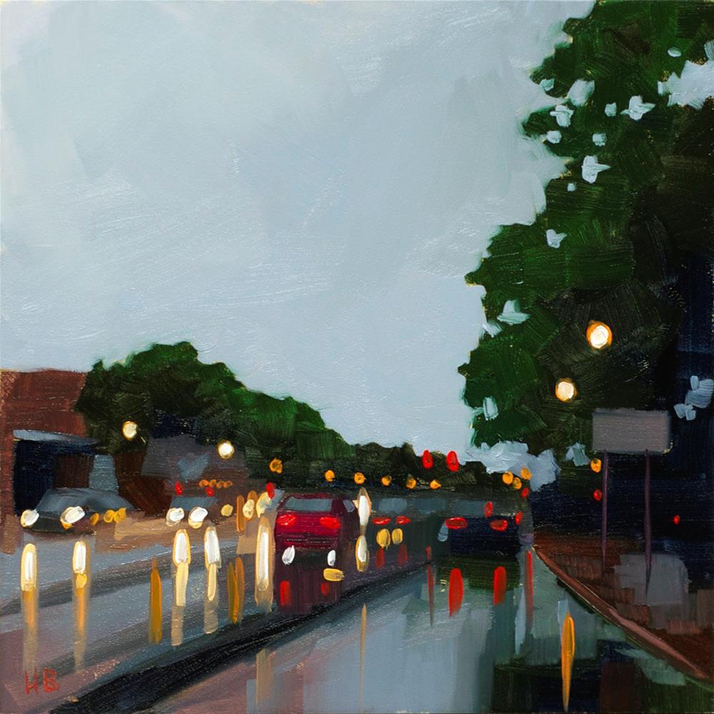 """Rain"" original fine art by Heather Bullach"