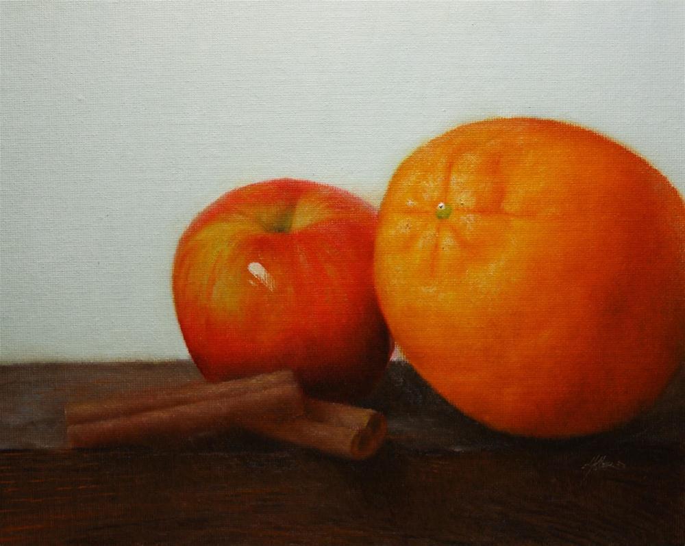 """Apple Cider"" original fine art by Jonathan Aller"