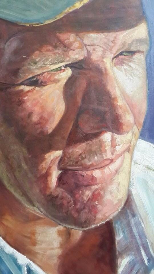 """Kobus"" original fine art by Rentia Coetzee"