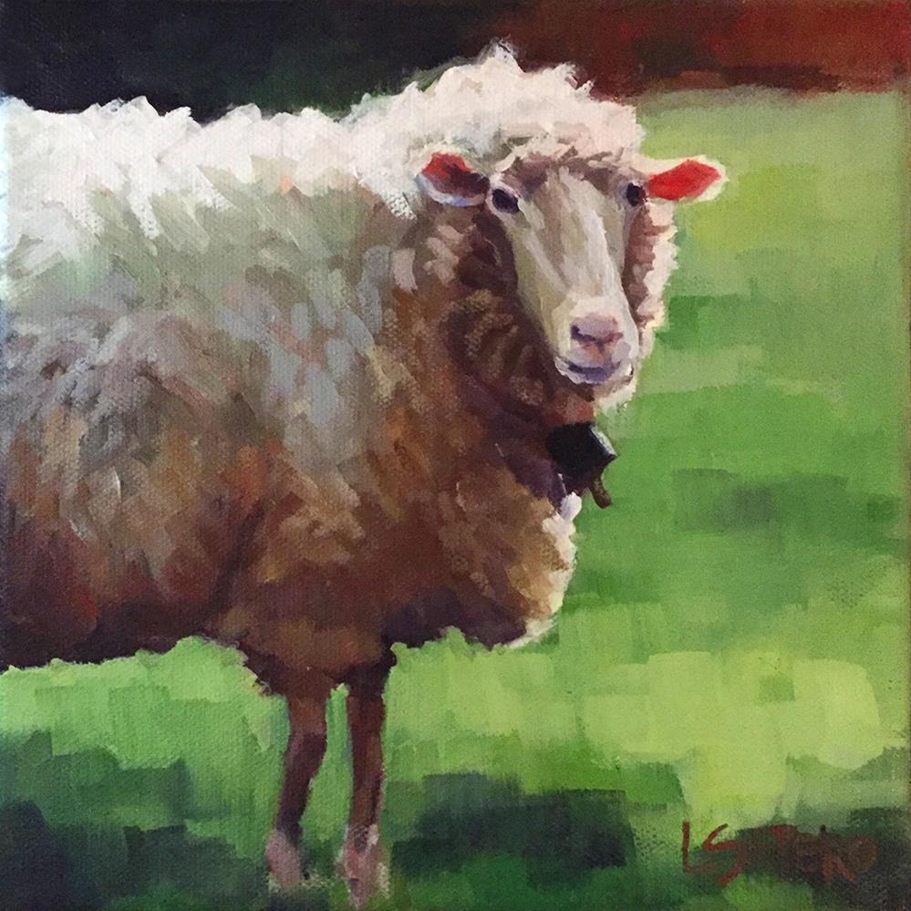 """Feeling Sheepish"" original fine art by Lisa Sotero"