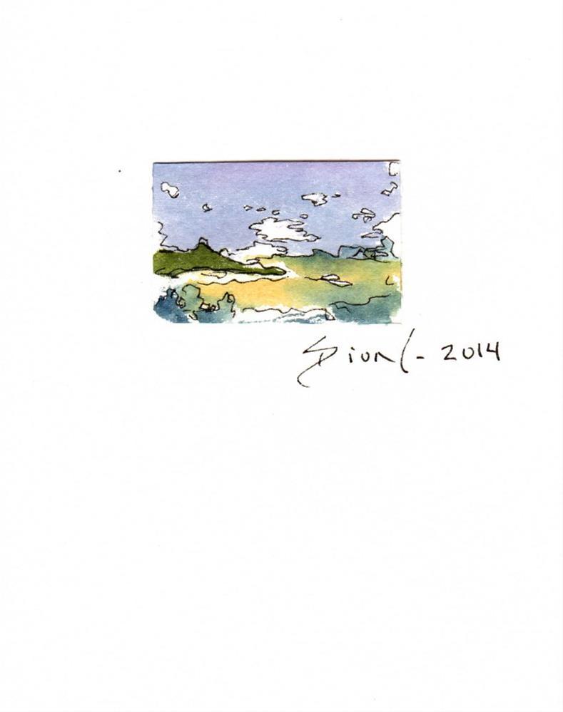 """Miniature Landscape #11"" original fine art by Sue Dion"