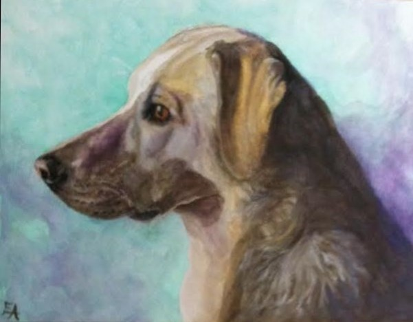 """""""Practice Watercolor"""" original fine art by Elizabeth Elgin"""