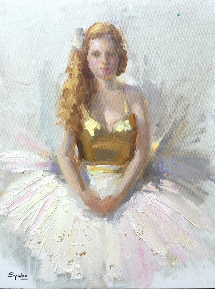 """Gold Rush"" original fine art by Johanna Spinks"