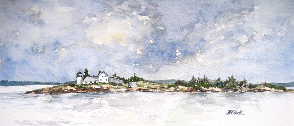 """Near Bar Harbor"" original fine art by Judith Freeman Clark"