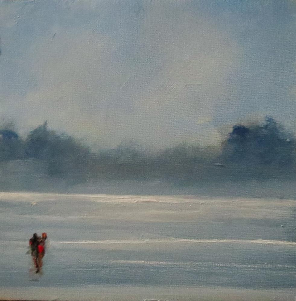 """Misty morning"" original fine art by Astrid Buchhammer"