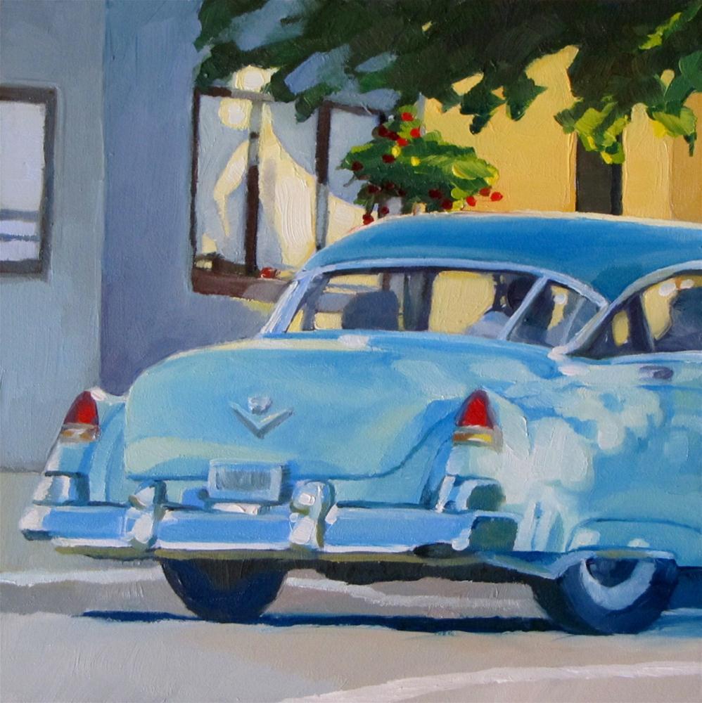 """Sunday Drive"" original fine art by Nora Bergman"