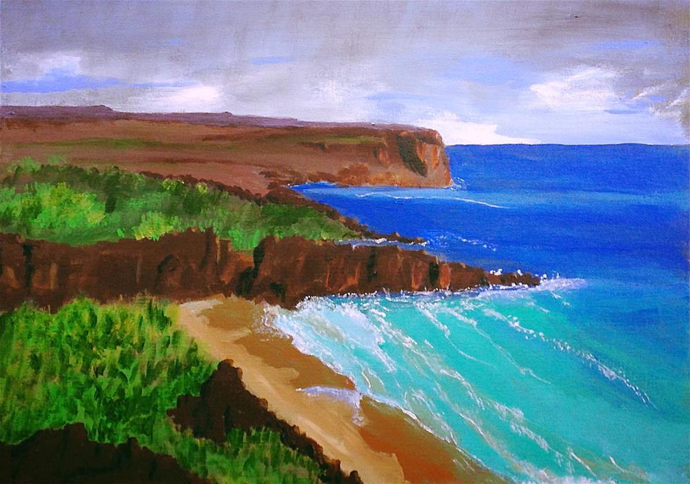 """Ireland!"" original fine art by Brenda Smith"