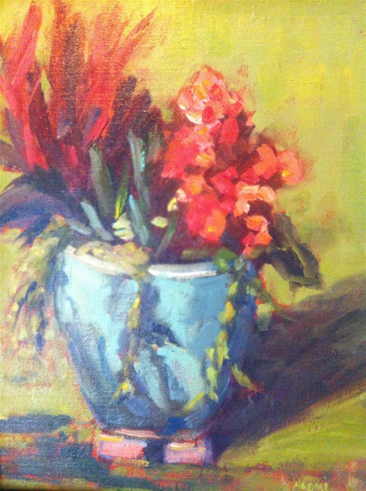 """In the sun"" original fine art by Naomi Bautista"