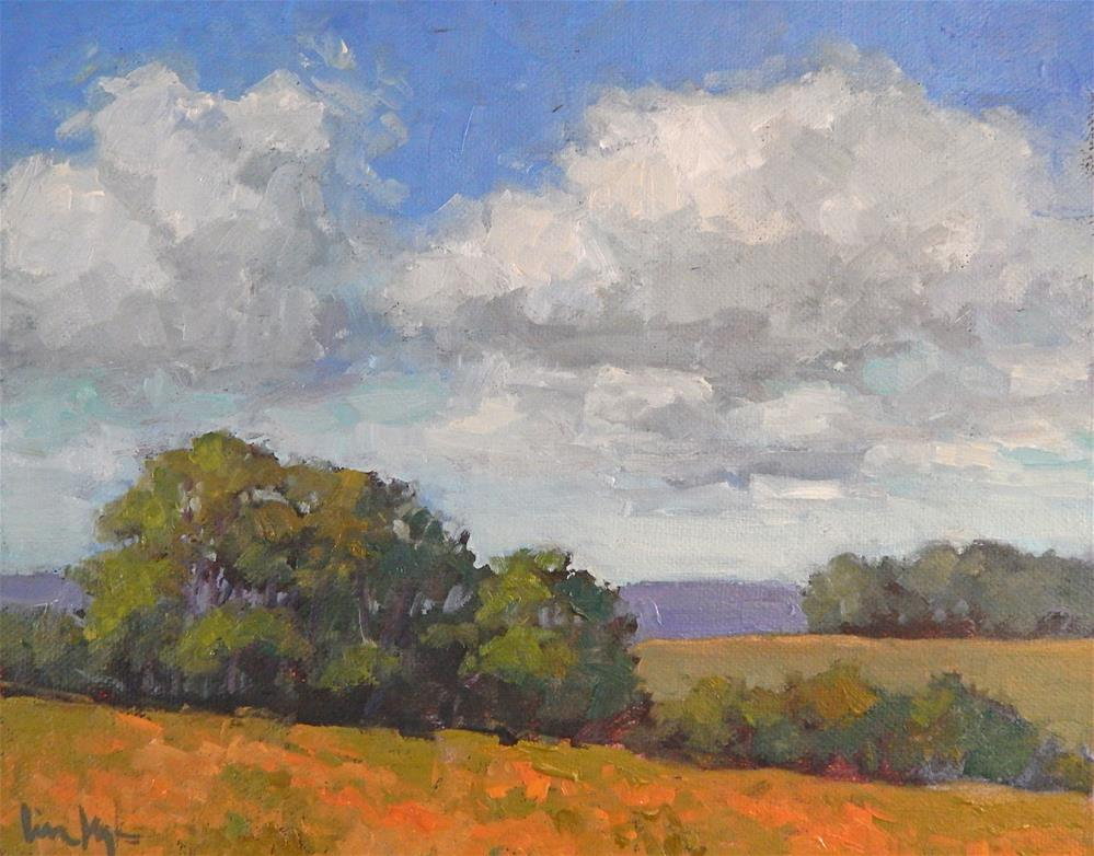 """Farmland"" original fine art by Lisa Kyle"