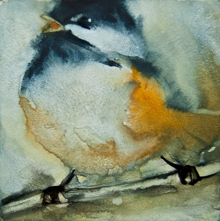 """I'm Singing!"" original fine art by Jani Freimann"