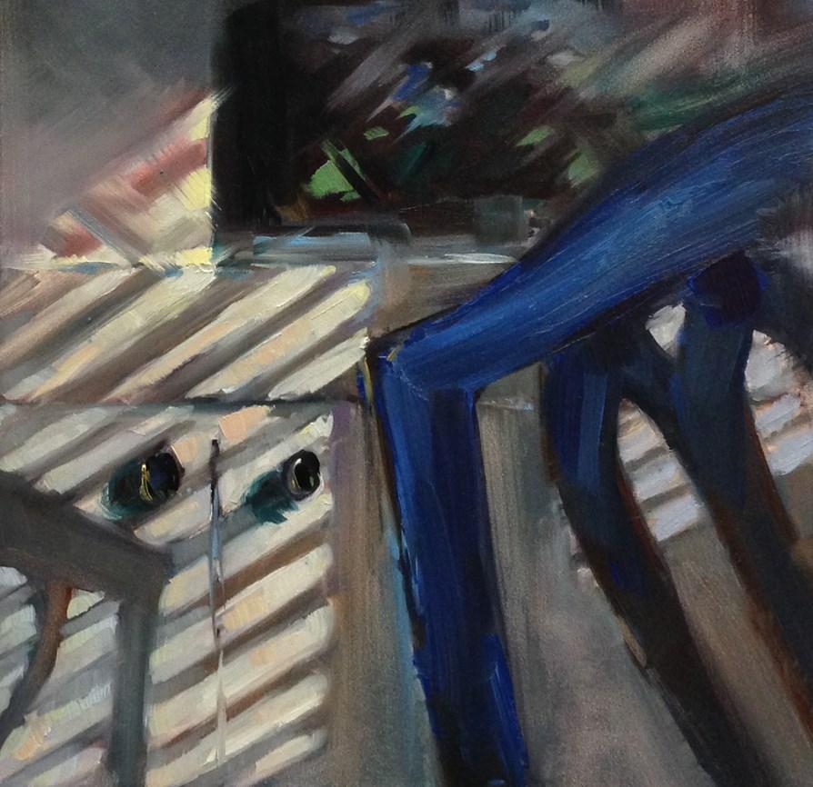 """The Eyes Have It"" original fine art by Patti McNutt"