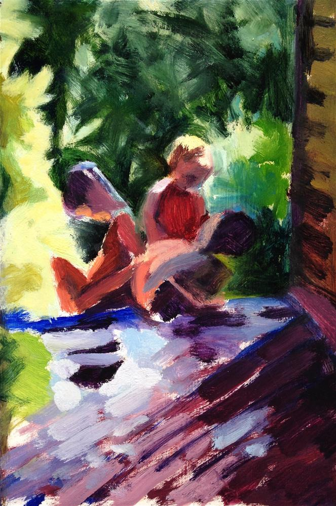 """Bouquet of Children"" original fine art by Pamela Hoffmeister"