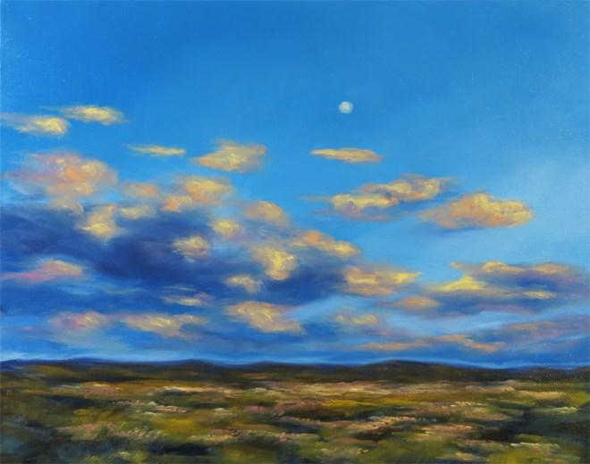 """""""Moon Glow"""" original fine art by Carol Zirkle"""