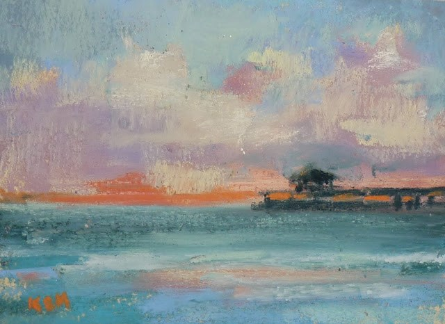 """Planning a Painting Series with Studies"" original fine art by Karen Margulis"