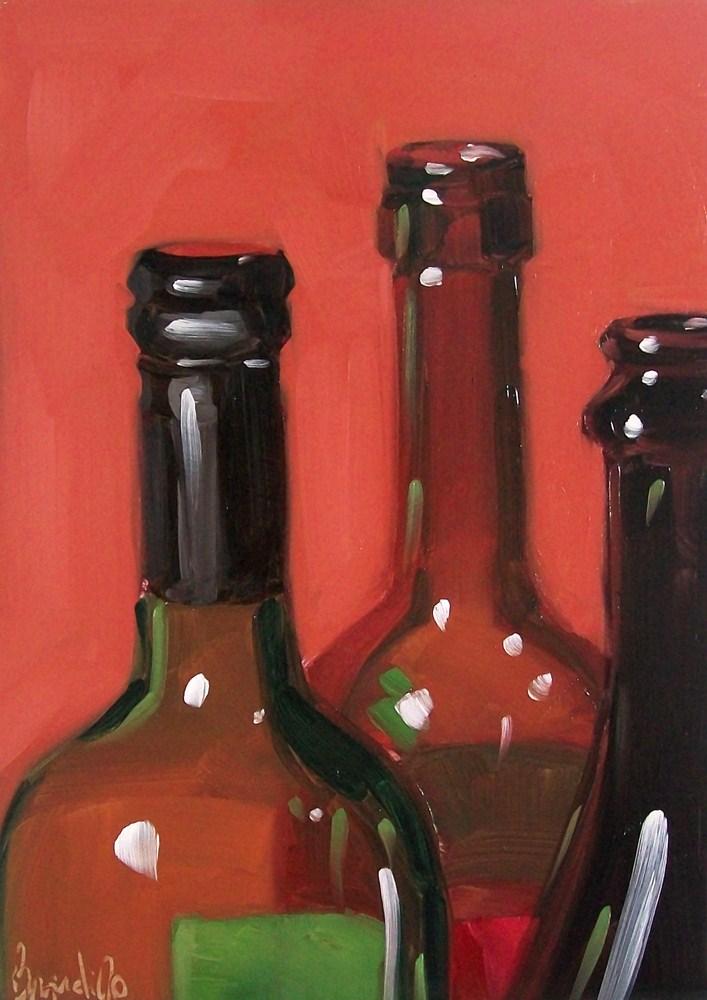 """wino22"" original fine art by Brandi Bowman"
