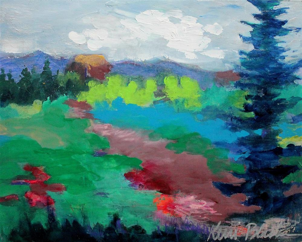 """""""At Home in the Country"""" original fine art by Kerri Blackman"""