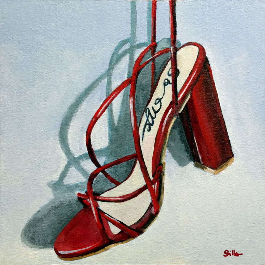 """2348 Hanging Assemblage"" original fine art by Dietmar Stiller"