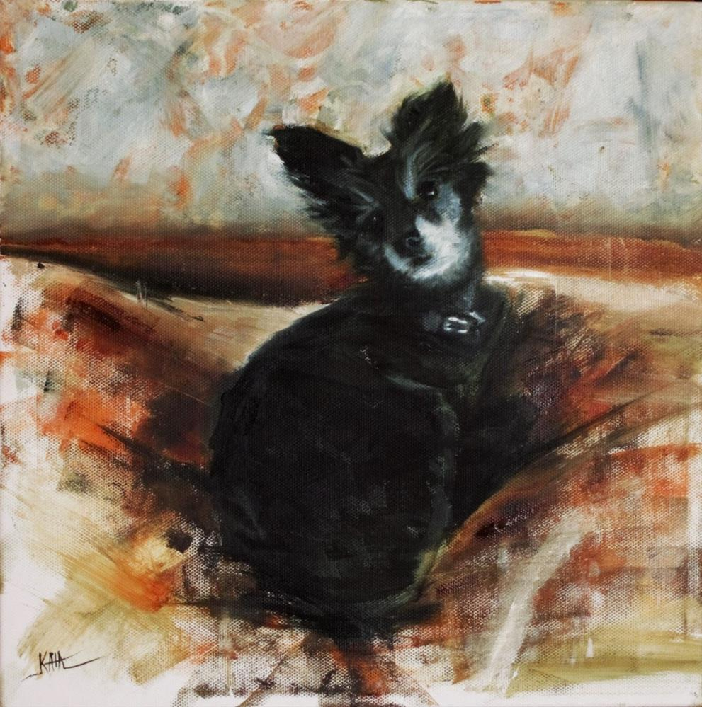 """""""Lola"""" original fine art by Kaia Thomas"""