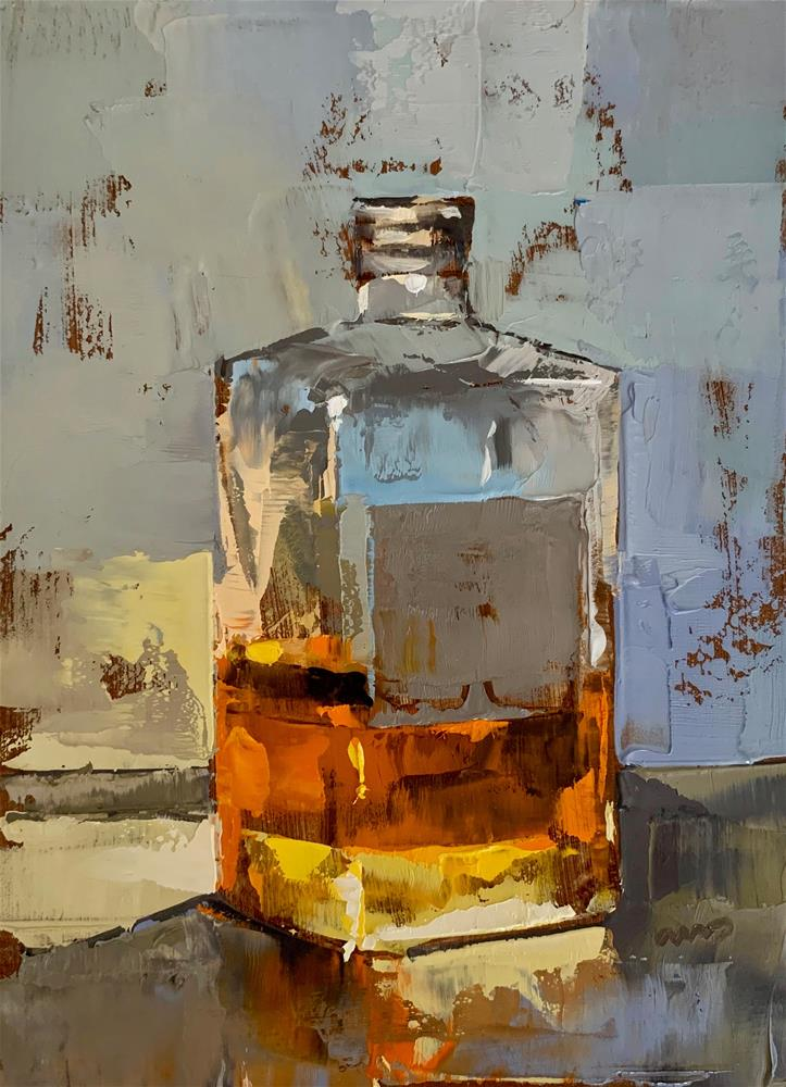 """Nikka whisky from the barrel"" original fine art by Ans Debije"
