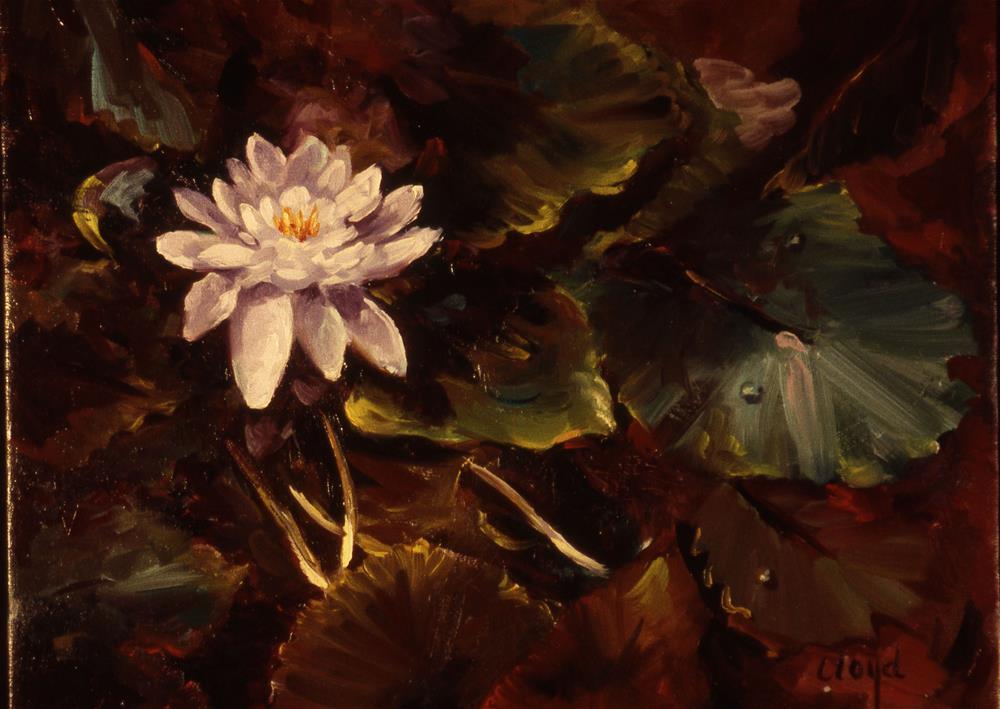 """Waterlily"" original fine art by Diane Lloyd"