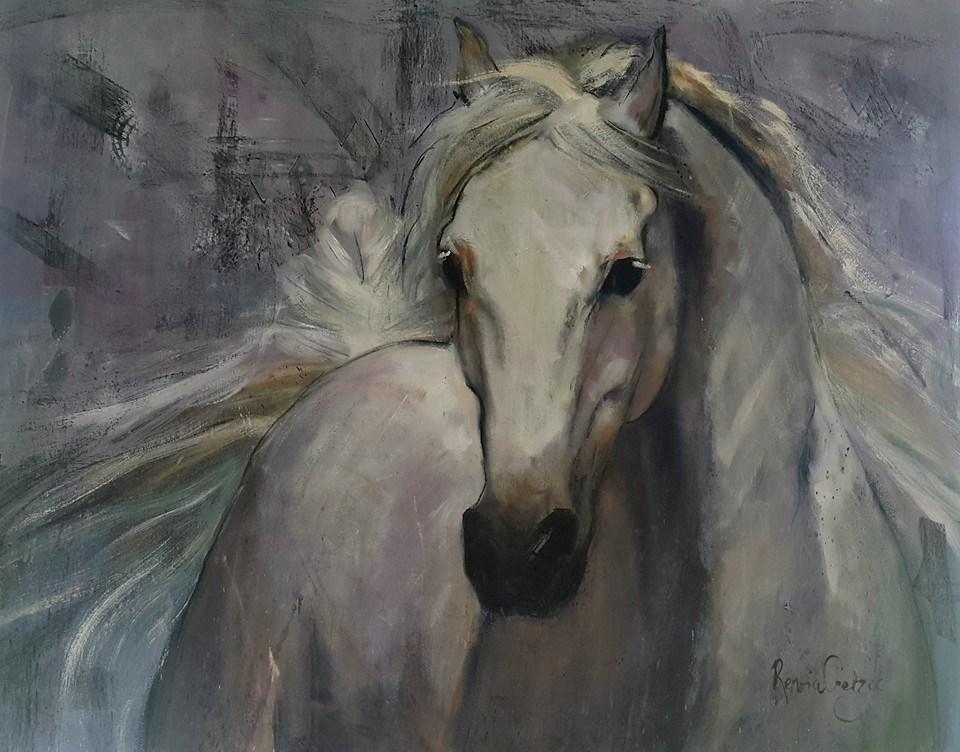 """Presence"" original fine art by Rentia Coetzee"
