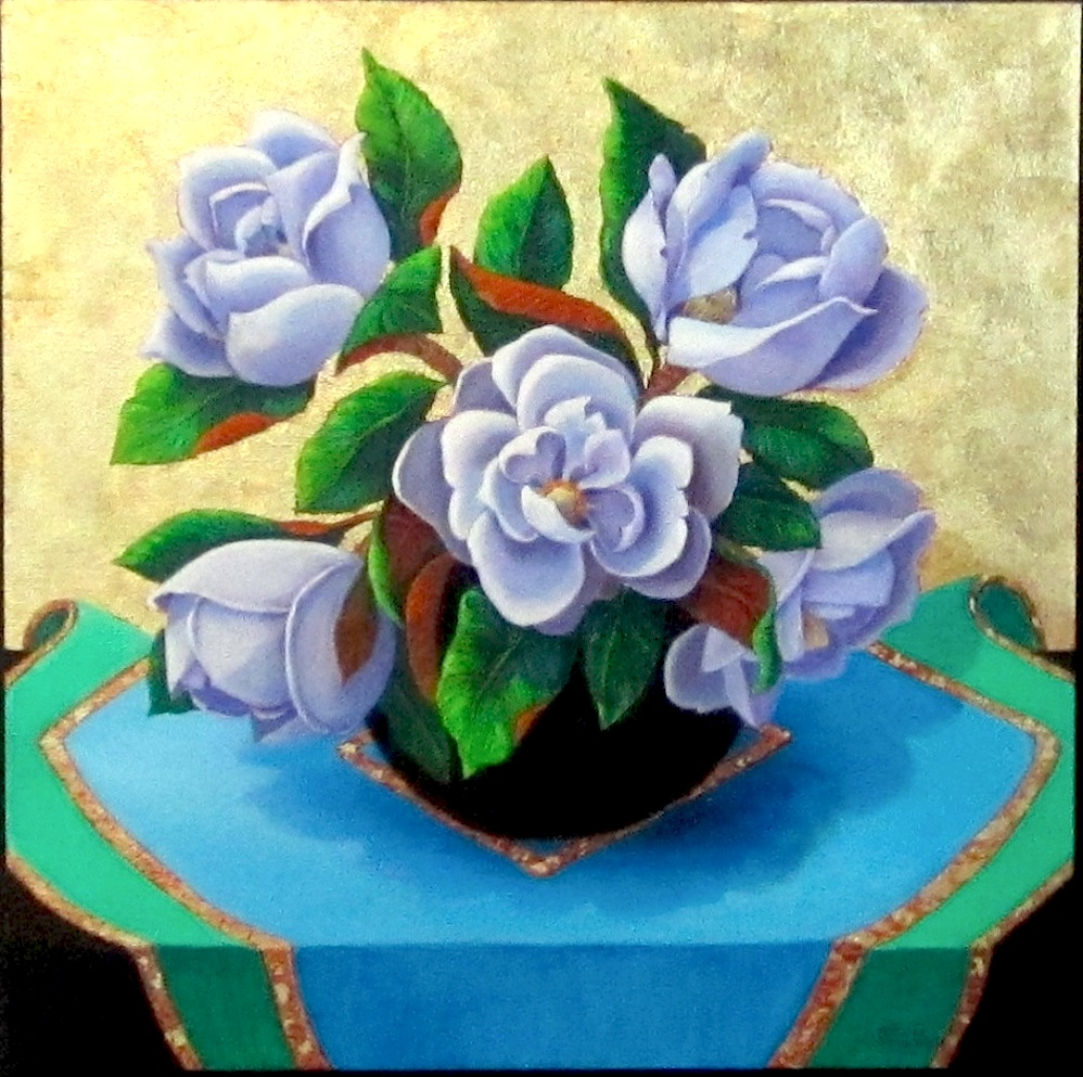 """Magnolias"" original fine art by Patricia Musgrave"