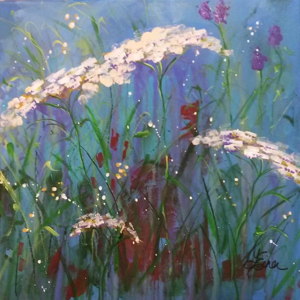 """""""Queen Ann's Lace"""" original fine art by Terri Einer"""