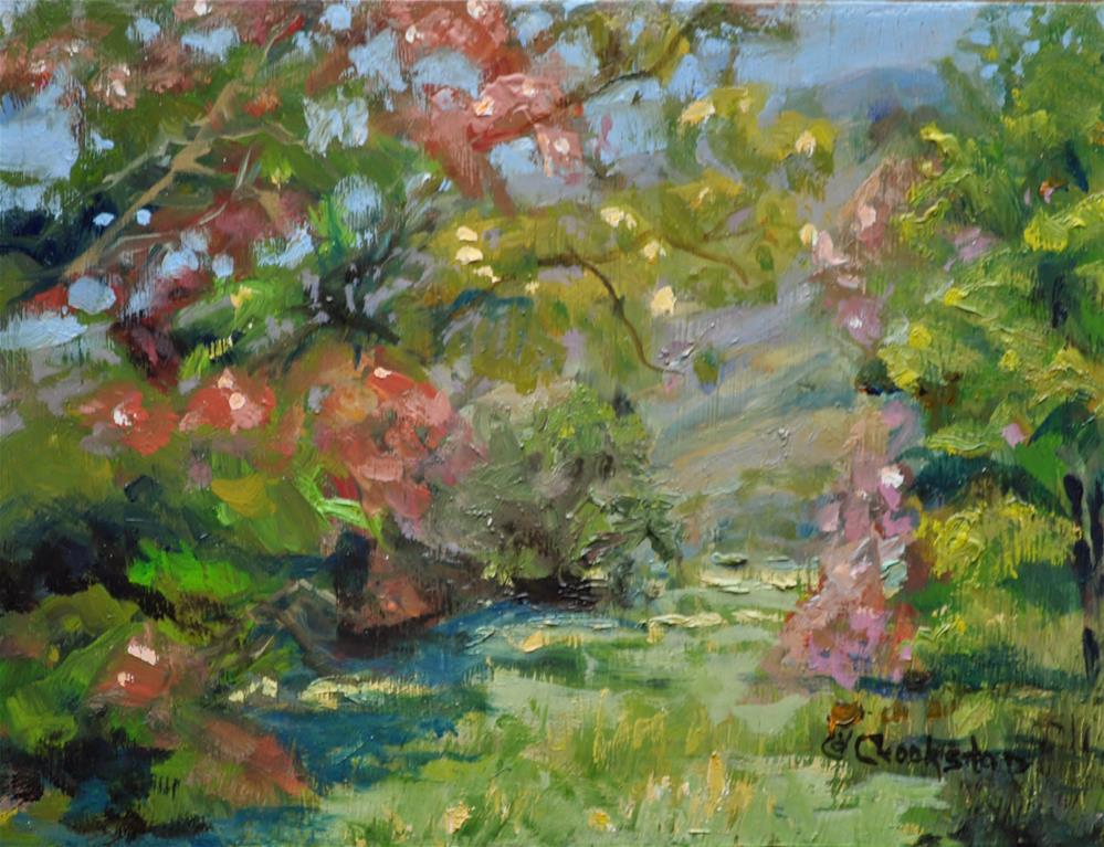 """Beauty on the Trail"" original fine art by Catherine Crookston"