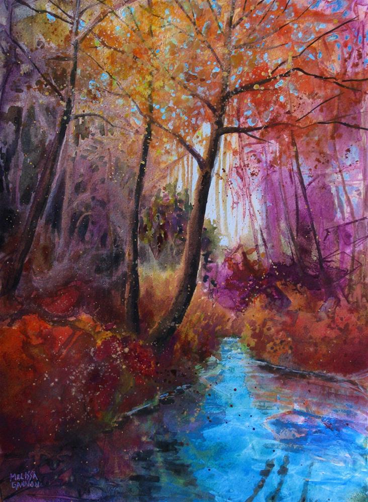 """Magic in the Air"" original fine art by Melissa Gannon"