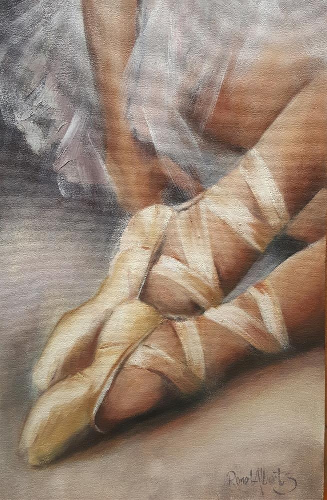 """Being a Ballerina"" original fine art by Ronel Alberts"