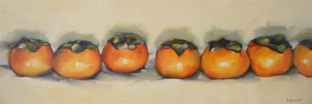 """Fuyu Line"" original fine art by Cheryl Wilson"